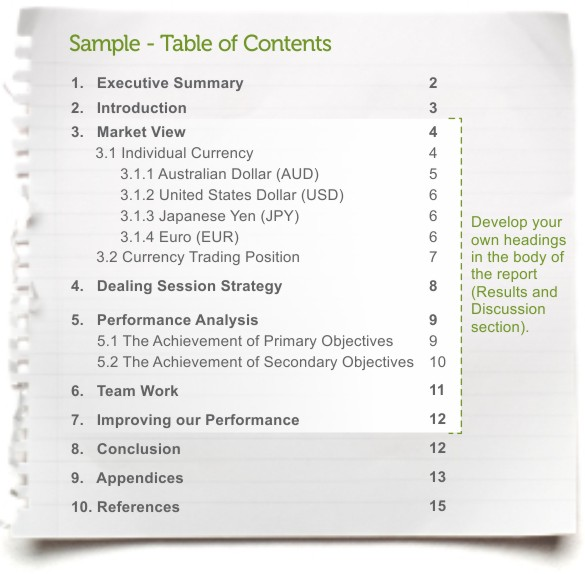 contents of a good book report You'll create a more useful business report if  the name of the report can be a simple description of the contents,  characteristics of a good business report.